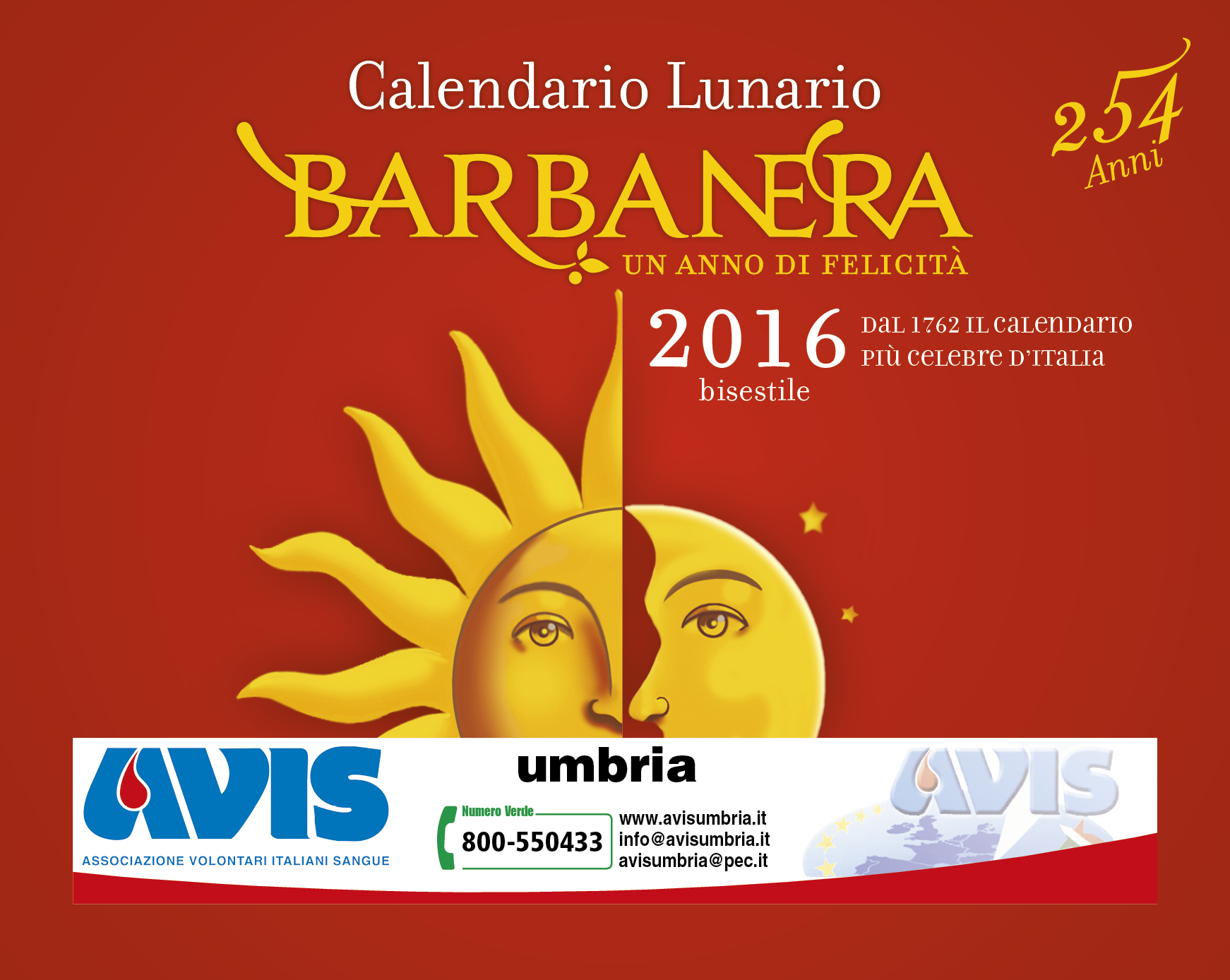 barbanera AVIS 2016