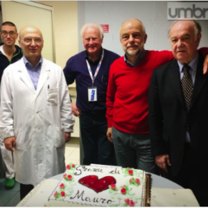 160esima donazione di sangue per Mauro Tosi