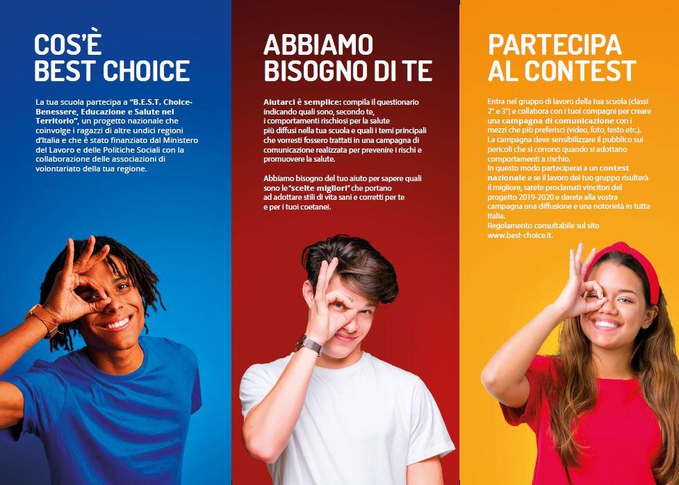Progetto B E S T Choice Benessere Educazione E Salute Nel Territorio Avis Umbria