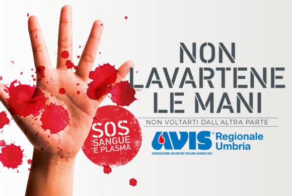 """""""Non lavartene le mani"""": una campagna """"shock"""" per richiamare l'attenzione sulla donazione di sangue"""""""